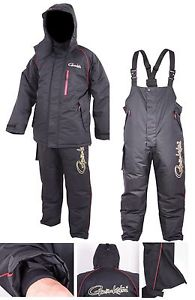 GAMAKATSU POWER THERMAL SUITS Thermoanzug Schwarz Gr L Bekleidung Angelsport