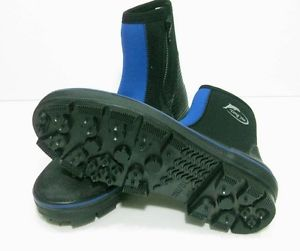 Details about  /YONGYUE Fishing Boots Spikes Rubber Soles With Nails Rubber US Size 6-10